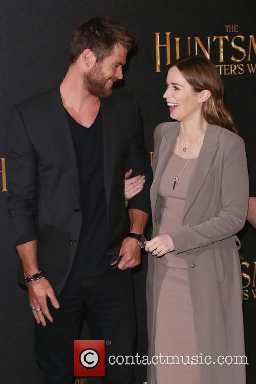 Chris Hemsworth and Emily Blunt 3