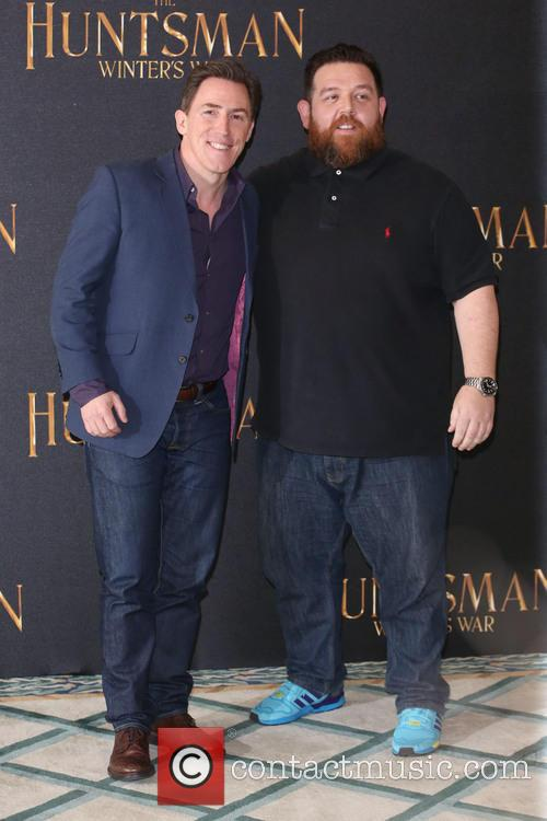 Rob Brydon and Nick Frost