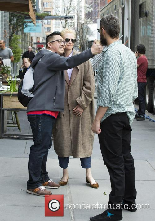 Sandro Kopp and Tilda Swinton 2