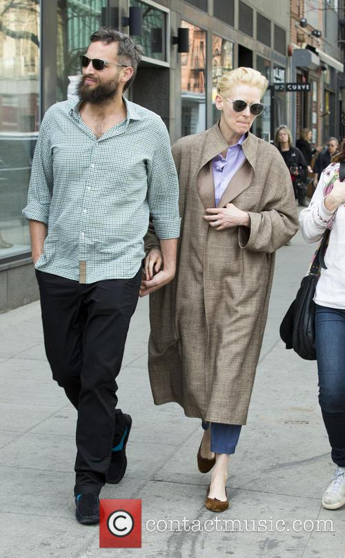 Sandro Kopp and Tilda Swinton 4