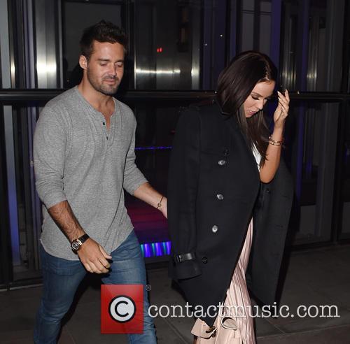 Vicky Pattinson and Spencer Mathews Dinner Date