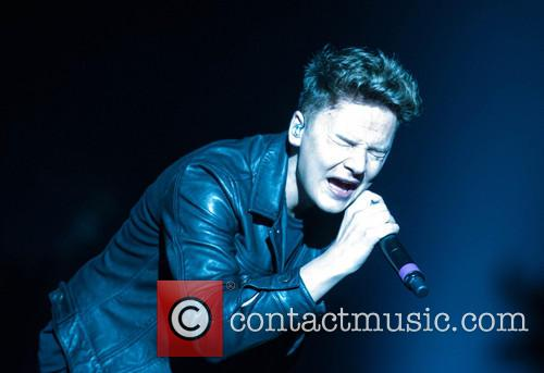 Conor Maynard performing live in London