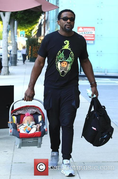 Darius Mccrary and Daughter 1