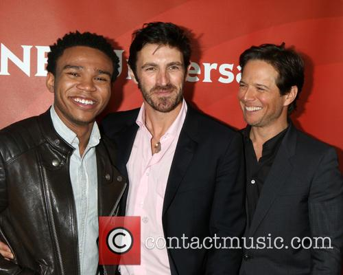 Robert Bailey Jr, Scott Wolf and Eoin Macken