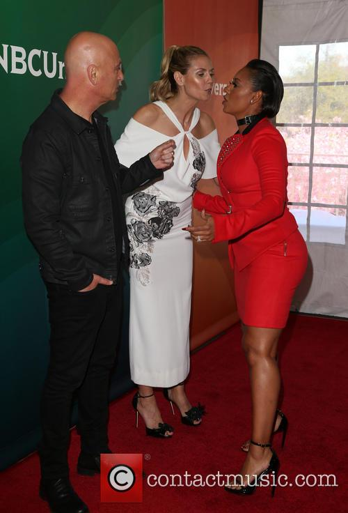 Mel B, Howie Mandel and Heidi Klum