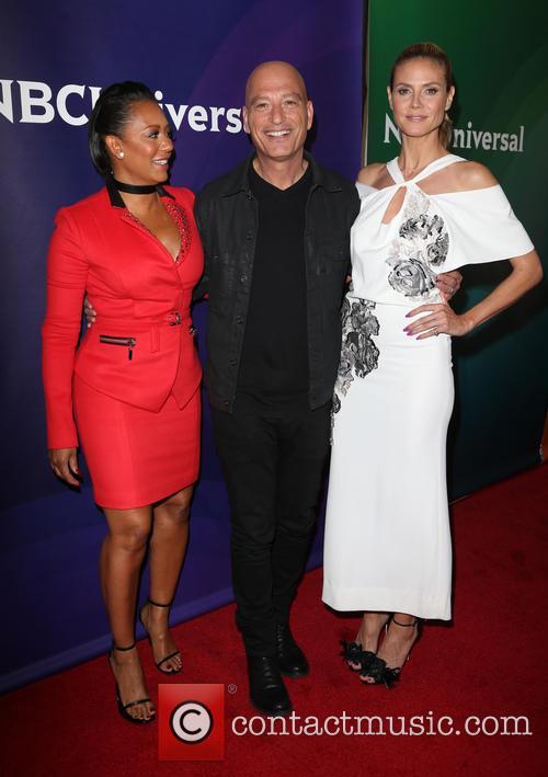 Mel B, Howie Mandel and Heidi Klum 2