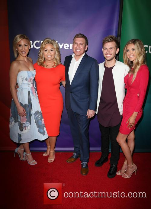 Savannah Chrisley, Todd Chrisley, Julie Chrisley, Chase Chrisley and Lindsie Chrisley 1