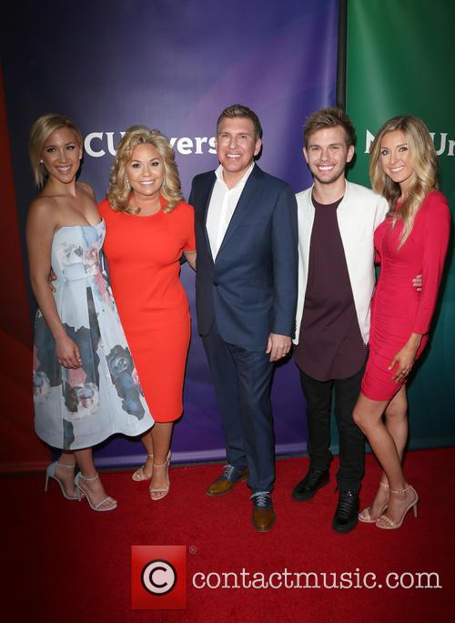 Savannah Chrisley, Todd Chrisley, Julie Chrisley, Chase Chrisley and Lindsie Chrisley 2