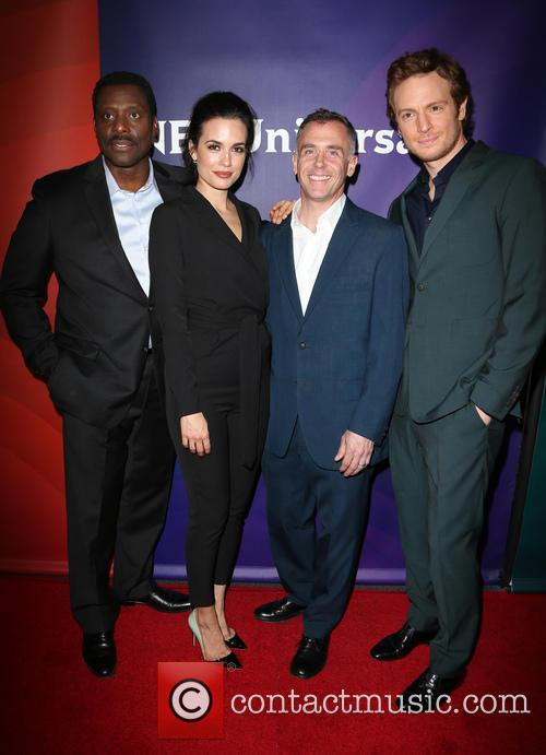Eamonn Walker, Torrey Devitto, David Eigenberg and Nick Gehlfuss 1