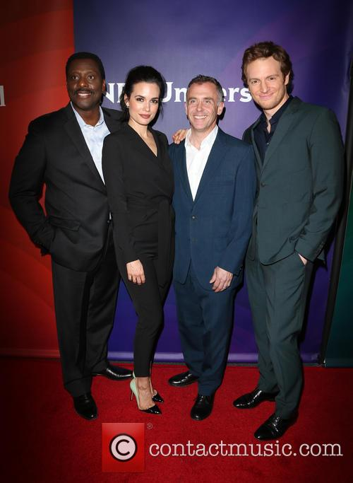 Eamonn Walker, Torrey Devitto, David Eigenberg and Nick Gehlfuss 2