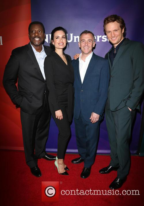 Eamonn Walker, Torrey Devitto, David Eigenberg and Nick Gehlfuss 4