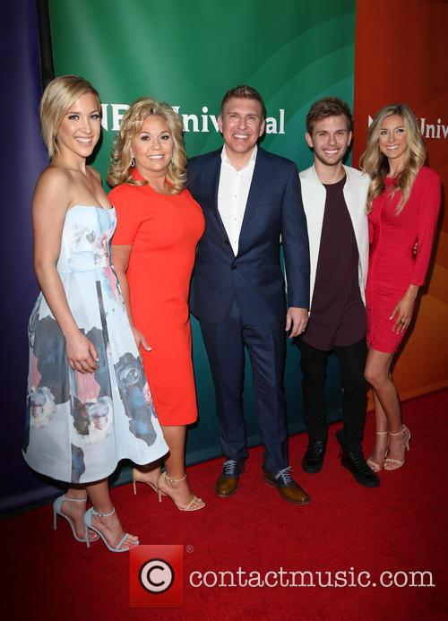 Savannah Chrisley, Todd Chrisley, Julie Chrisley, Chase Chrisley and Lindsie Chrisley 3