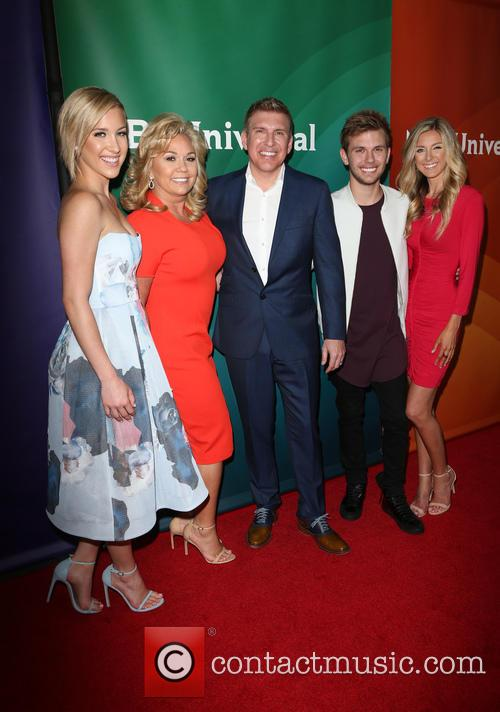 Savannah Chrisley, Todd Chrisley, Julie Chrisley, Chase Chrisley and Lindsie Chrisley 4
