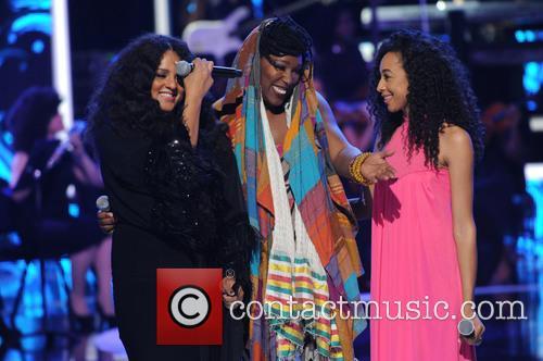 Marsha Ambrosius, Imani Uzari and Corinne Bailey Rae 3