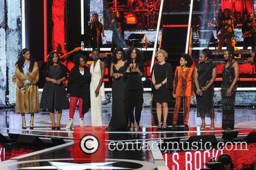 Rihanna, Shonda Rhimes, Gladys Knight, Danai Gurira, Beverly Bond, Tracee Ellis Ross, Debra Lee, Amandla Stenberg, Alicia Garza and Opall Tometi