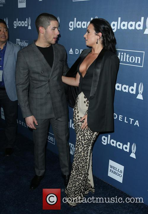 Nick Jonas and Demi Lovato 2