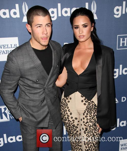 Nick Jonas and Demi Lovato 5