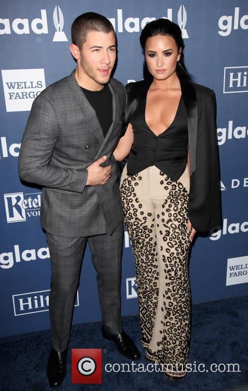 Nick Jonas and Demi Lovato 6