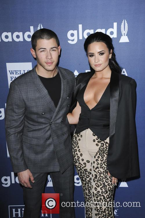 Nick Jonas and Demi Lovato 2