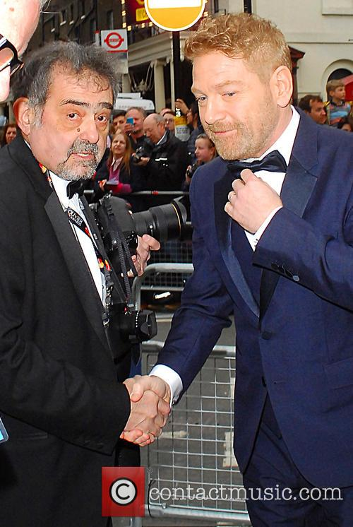 Alan Davidson and Kenneth Branagh 1