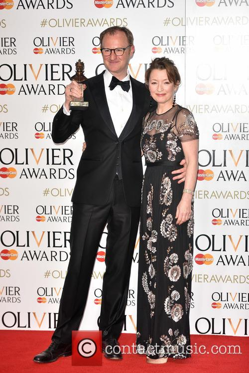 Mark Gatiss and Lesley Manville