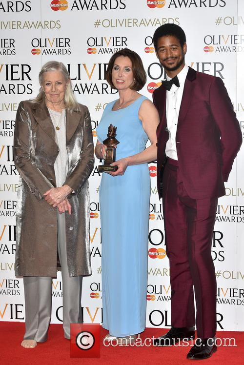 Sally Rogers, Vanessa Redgrave and Guest 2