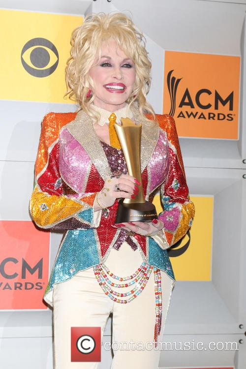 Dolly Parton at the Country Music Awards