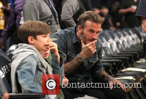 David Beckham, Romeo Beckham and Cruz Beckham 3