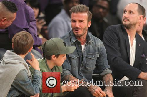 David Beckham, Romeo Beckham and Cruz Beckham 7