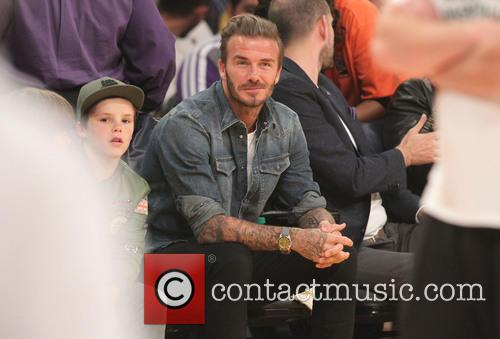 David Beckham, Romeo Beckham and Cruz Beckham 8