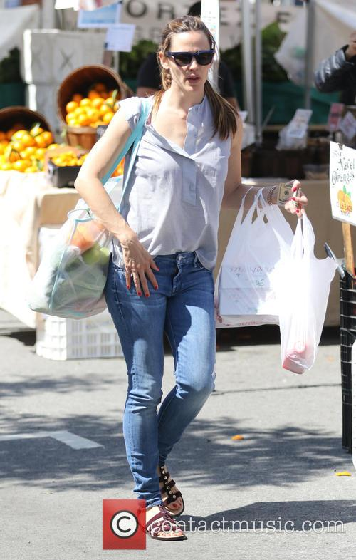 Jennifer Garner takes her daughter Seraphina to the...