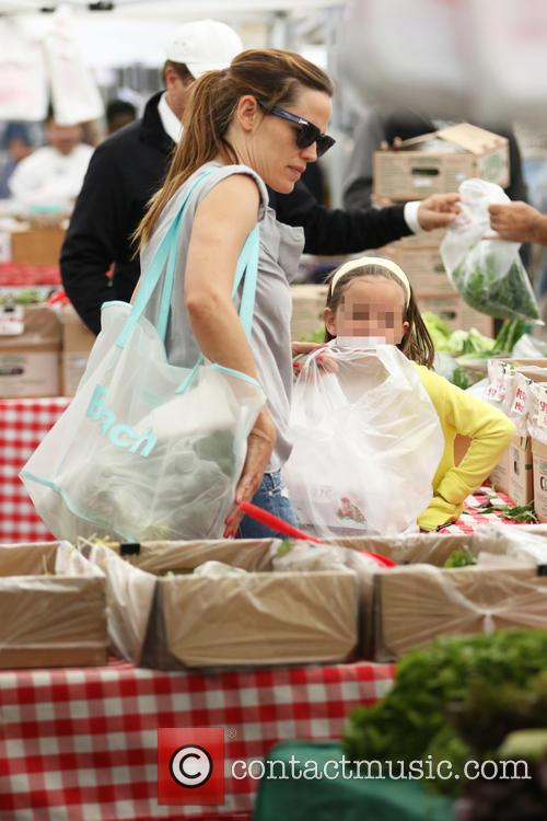 Jennifer Garner and Seraphina Affleck 11