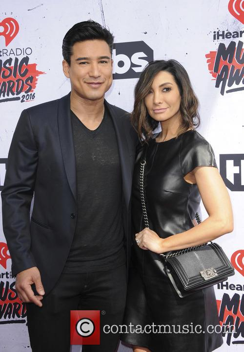 Mario Lopez and Courtney Laine Mazza 2