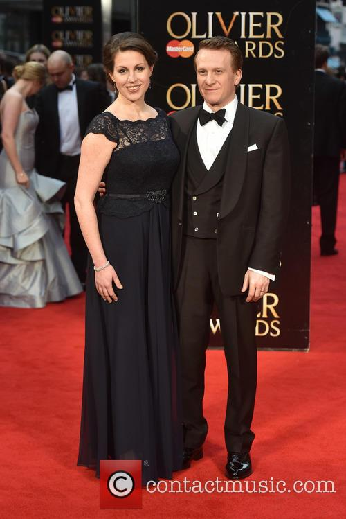 Jamie Parker at the Laurence Olivier Awards