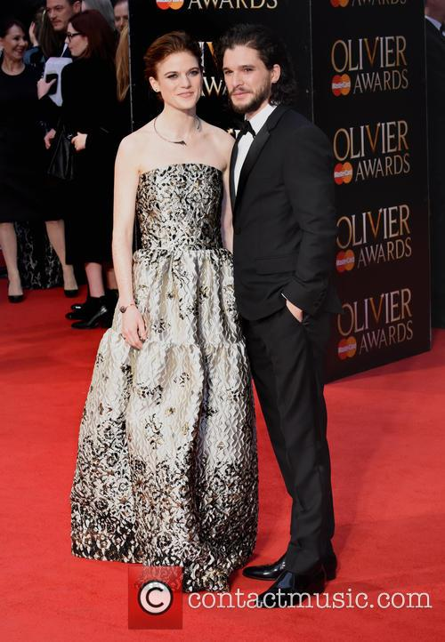 Rose Leslie and Kit Harington 1