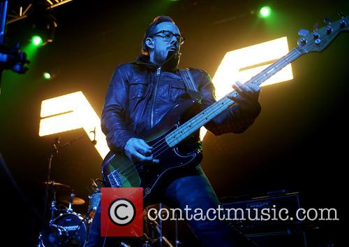Weezer and Scott Shriner 6