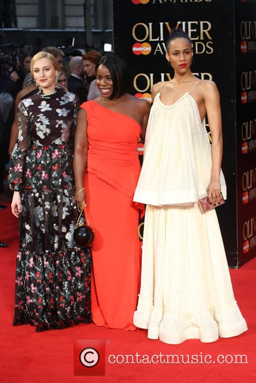 Laura Carmichael, Uzo Aduba and Zawe Ashton 8