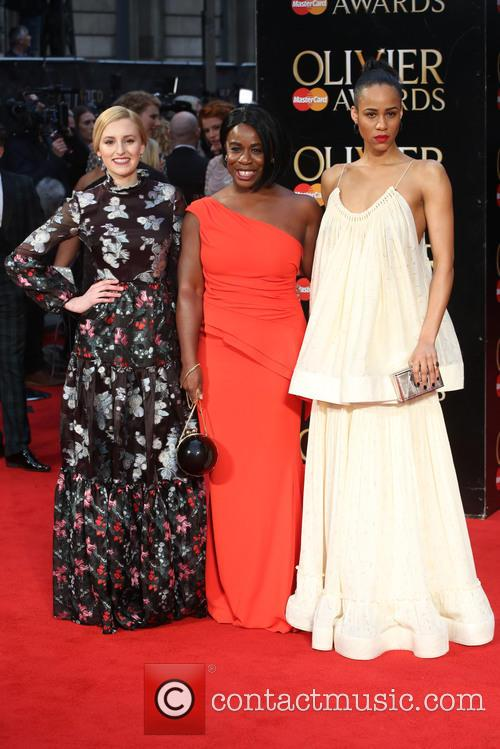 Laura Carmichael, Uzo Aduba and Zawe Ashton 9
