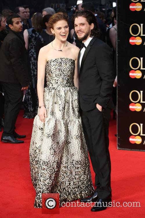 Rose Leslie and Kit Harington 2