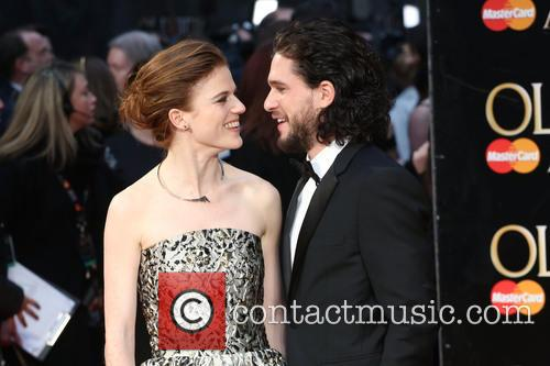 Rose Leslie and Kit Harington 4