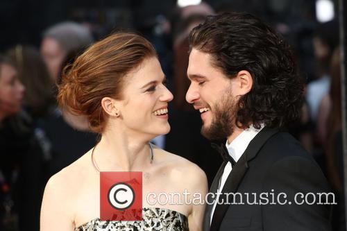 Rose Leslie and Kit Harington 5