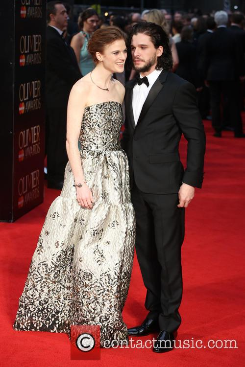 Rose Leslie and Kit Harington 7
