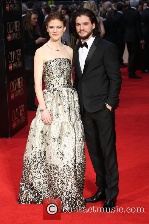 Rose Leslie and Kit Harington 8