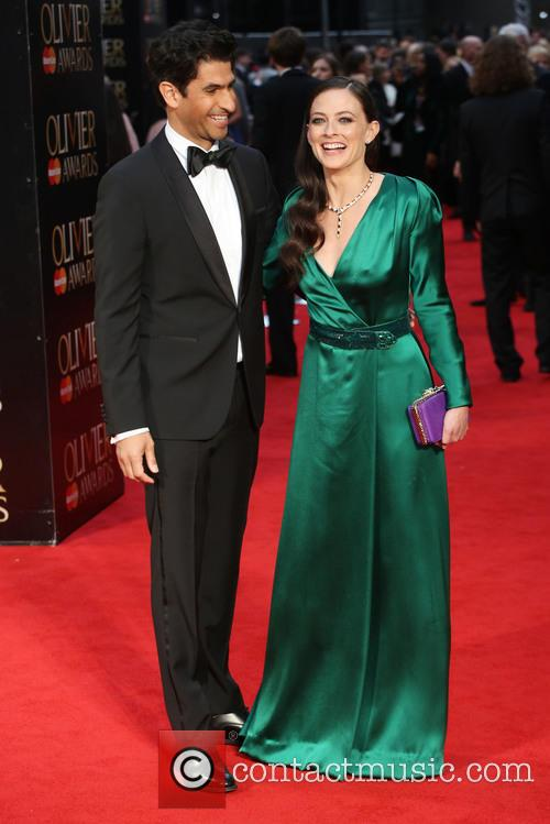 Raza Jaffrey and Lara Pulver 6