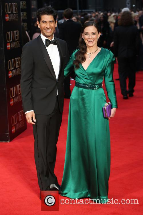 Raza Jaffrey and Lara Pulver 7