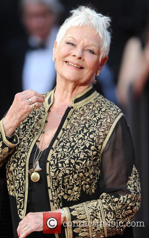 Rapper Judi Dench snapped at the Olivier Awards