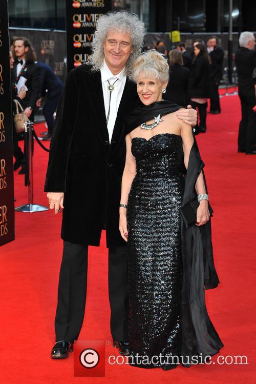 Brian May and Anita Dobson 5