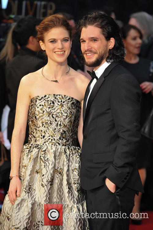 Rose Leslie and Kit Harington 9