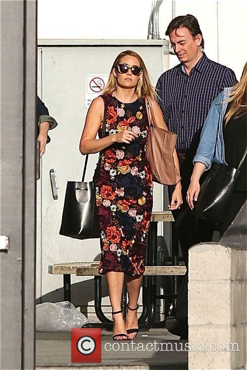 Lauren Conrad leaves her book signing at The...