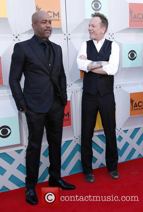 Darius Rucker and Kiefer Sutherland 1